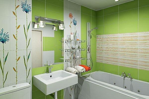 Если нет места для сушилки для полотенец, можно приобрести удобную полку, в которой есть место для свернутых полотенец