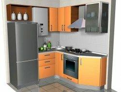 Фото маленьких угловых кухонь в современном стиле