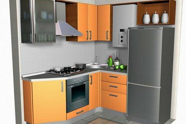 Выбирая дизайн кухни, красиво разместить газовую колонку не составит труда