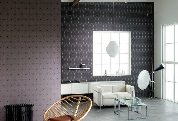 Сочетание для любителей строгого делового стиля даже в зале дома