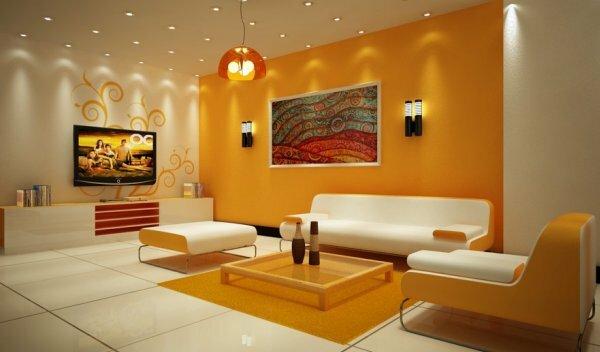 Тот, кто любит яркий образ жизни, сможет перенести его и в дизайн своего зала