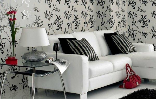 Идеальный пример того, как можно с помощью декоративных подушек подчеркнуть красоту стен