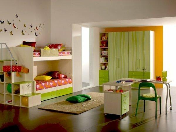 Комната для двойняшек 10 лет