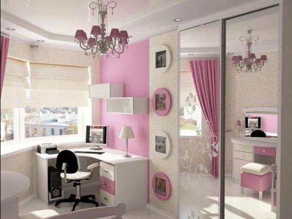 Комната в элегантном романтическом стиле