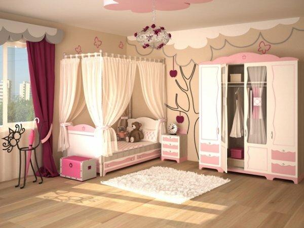 Элегантная «комната принцессы»