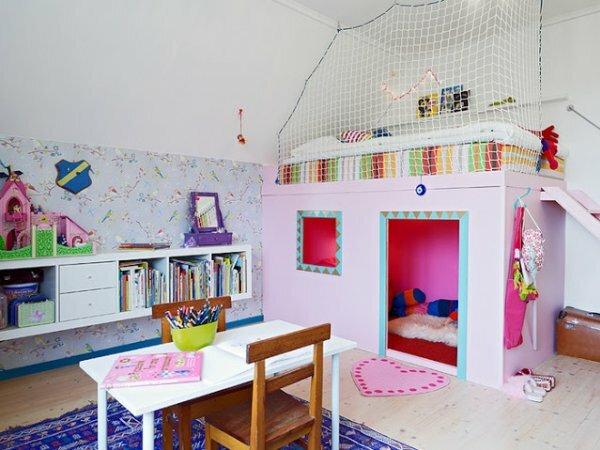 Оригинальный «домик» для двойняшек 6 лет