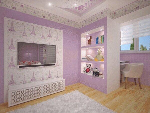 Комната юной парижанки