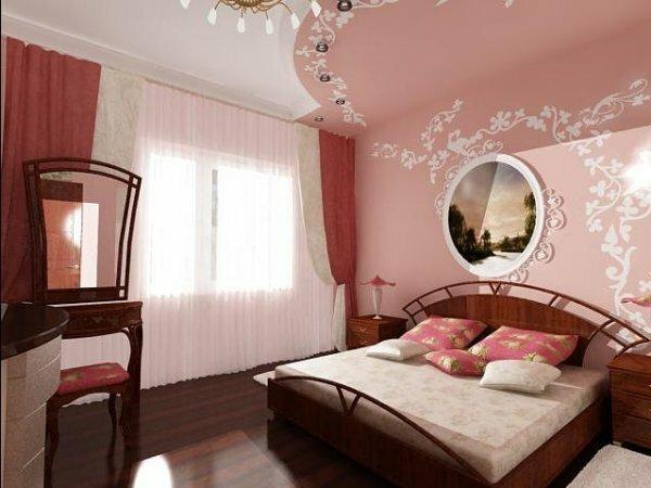 Палевая комната в изысканном классическом стиле