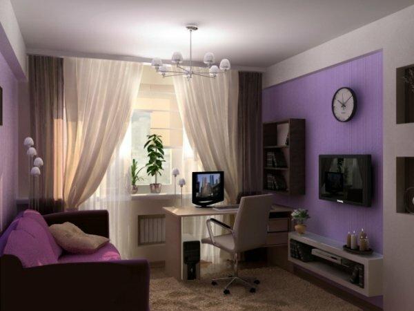 Элегантная комната для юной леди