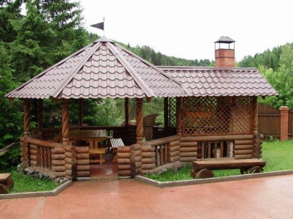 Бревенчатый «Сказочный домик»