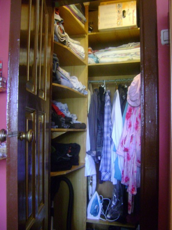 Мини-гардеробная в хрущевке