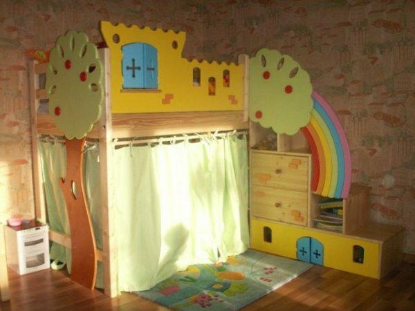 Угловой «Волшебный домик»