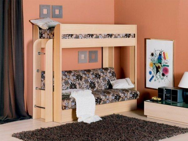 Кровать-чердак для подростка