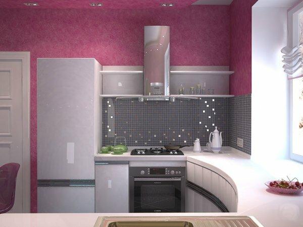 Кто сказал, что розовый не годится для кухни?