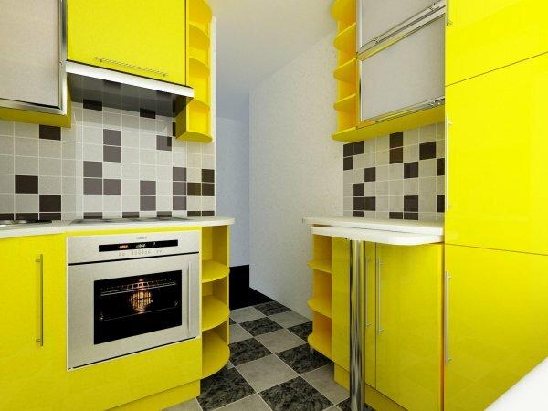 Вашей кухне не помешает немного желтого