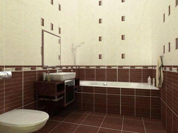 «Кофейная» ванная