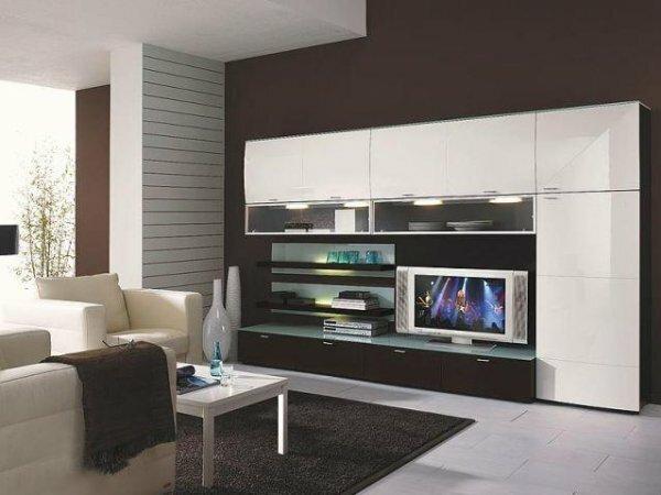 Прямая стенка под телевизор