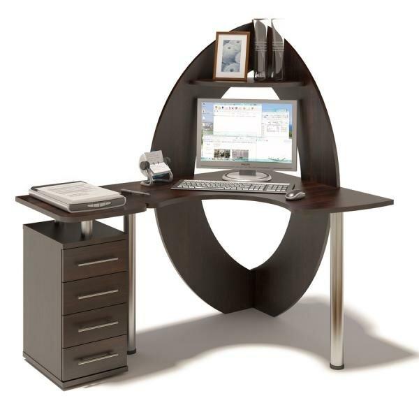 Угловой стол в стиле модерн