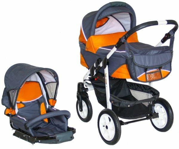 Яркие цвета и простые принты больше подходят коляскам для мальчиков