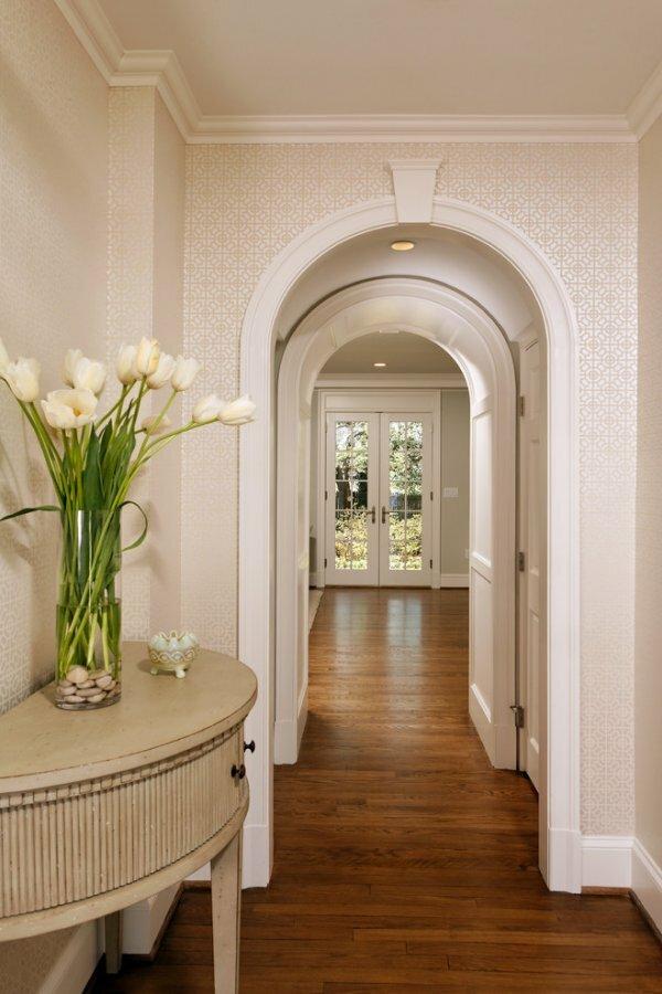 Гипсокартонные межкомнатные арки легко вписываются в любой стиль интерьера
