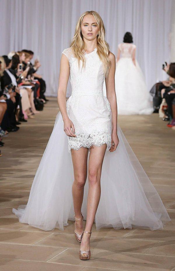Не только модное, но и очень практичное решение для невесты
