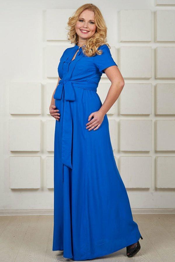 Платья в пол для беременных
