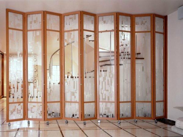 Ширма, как удобный вариант перегородки в дизайне любого помещения
