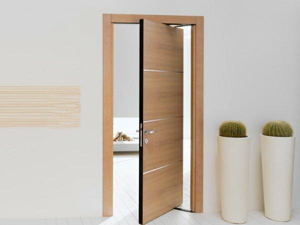 Нестандартный механизм открывания двери