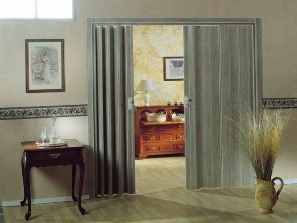 Фото отображает оптимальное решение разделения зоны отдыха и гостевой