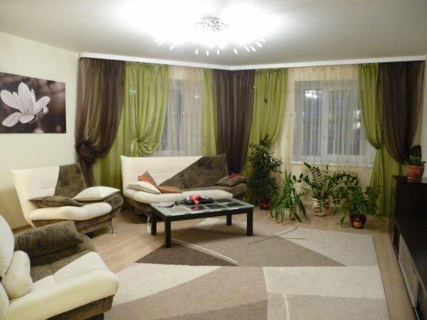 Фото отображает цветовой баланс всей гостиной