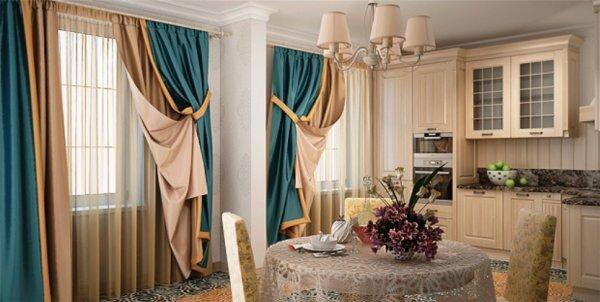 На фото изображены легкие и дорогие ткани, которые добавляют изысканности и богатства