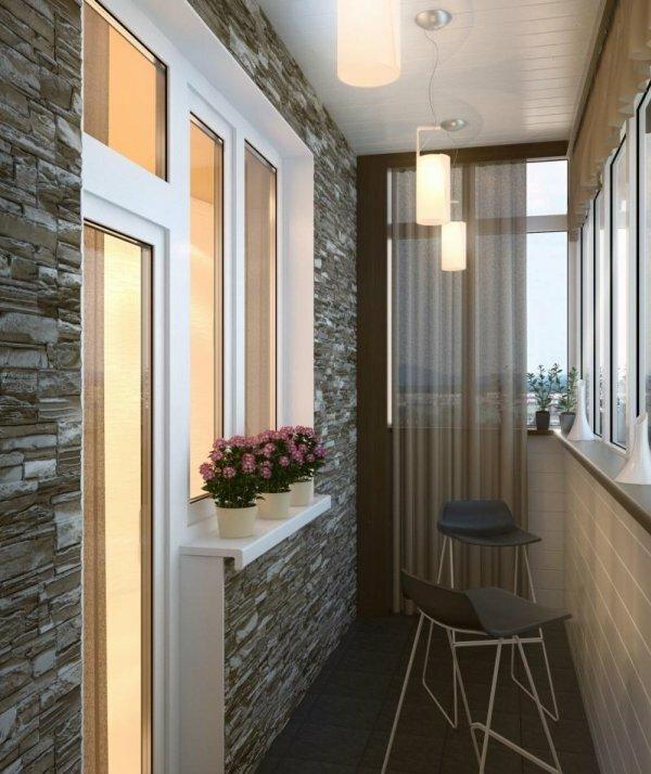 Минимум мебели, максимум света – идеальный балкон в хрущевке