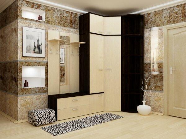 Варьирование высоты шкафа позволит визуально «приподнять» высоту потолка
