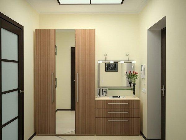 Красивые и миниатюрные шкафы поместятся в любой типовой прихожей