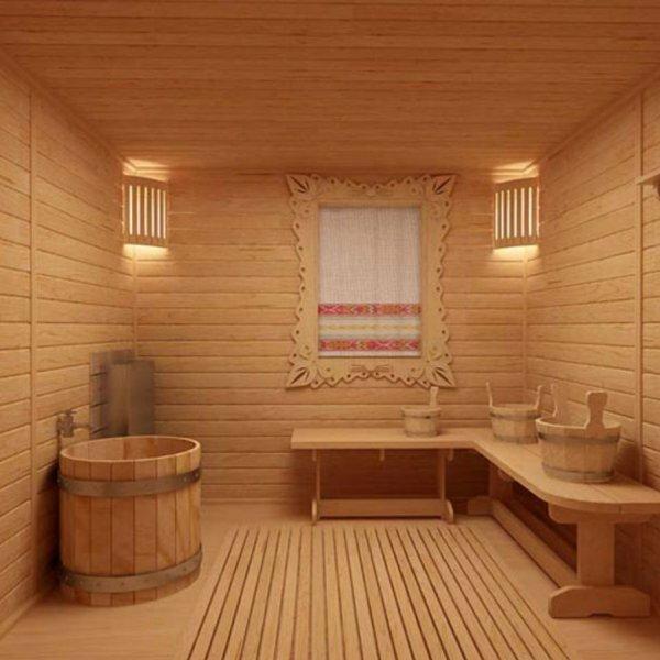 Стильная отделка бани своими руками на даче