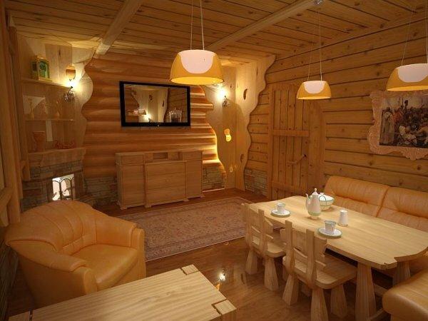 На фото проект отличающийся уютной обстановкой