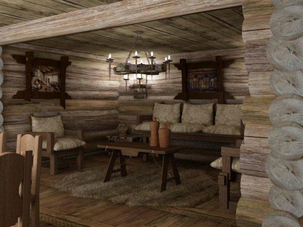 Эффектное оформление комнаты позволит хорошо отдохнуть и расслабиться