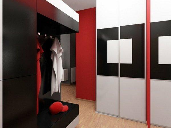 Авангардный стиль в дизайне прихожей