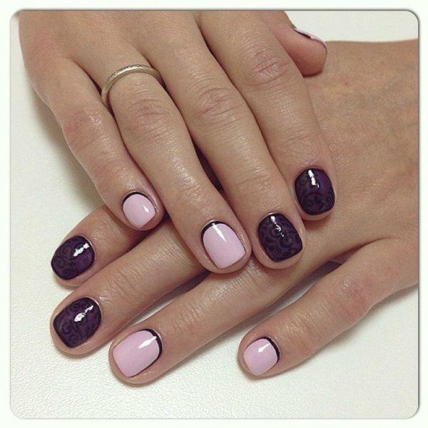 Даже совсем короткие ногти могут выглядеть предельно элегантно и стильно