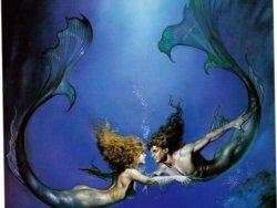 Красивые фото настоящих русалок в воде