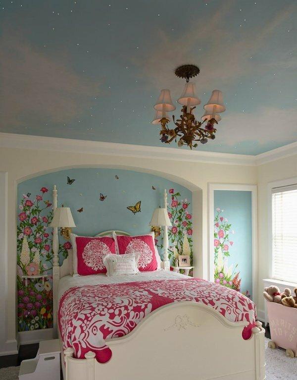 Элегантное световое решение для спальни