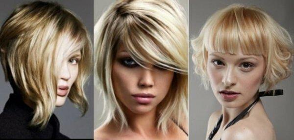 3 варианта укладки градуированного каре на короткие и средние волосы