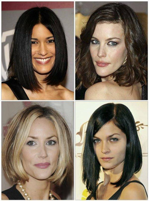 Градуированное каре подойдет обладательнице любой формы лица и типа волос