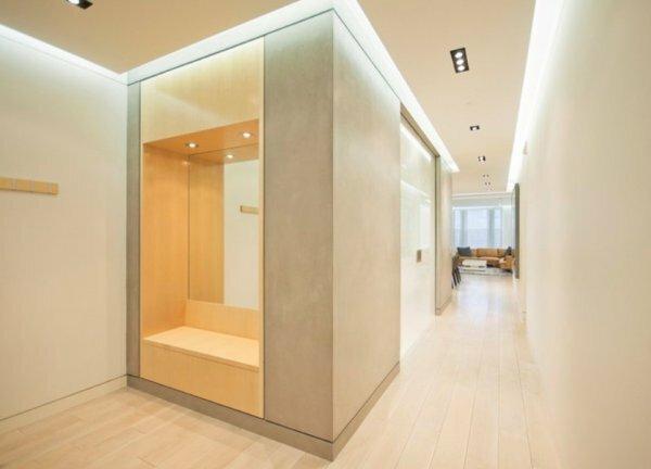 Основные правила, которых следует придерживаться при создании освещения в коридоре: