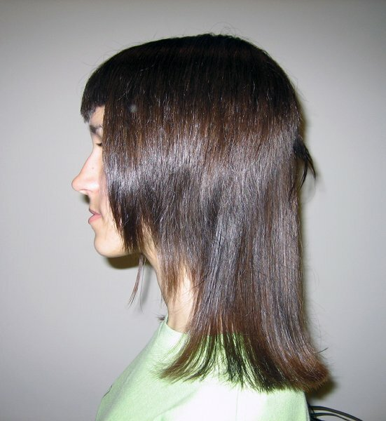 Двойной каскад с шапочкой на прямые тонкие волосы