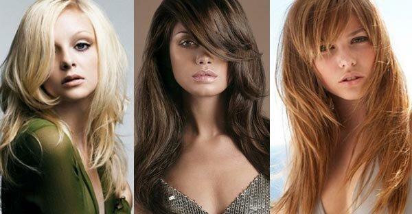 Рваный каскад на вьющихся или волнистых волосах