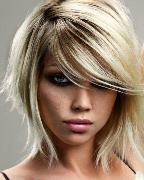 Частое мелирование на светло-русые волосы