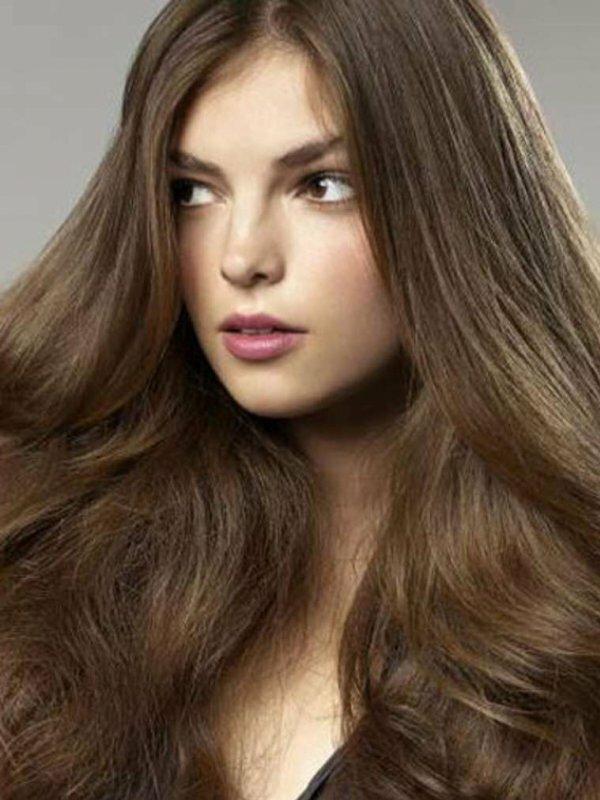 Пепельное тонирование на коричневые волосы