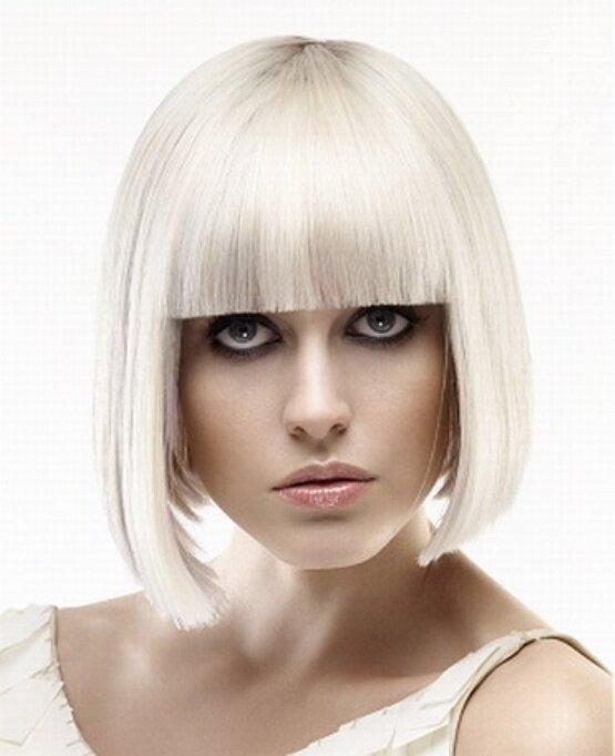 Стильная платина – подарок для светлых волос