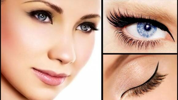 Тончайшие черные стрелки формируют изысканный «миндалевидный» разрез глаз